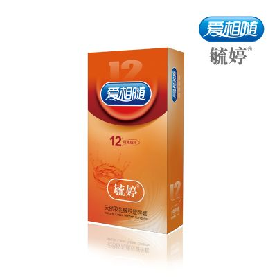 【爆品】毓婷天然乳胶橡胶避孕套超薄超润12只/盒
