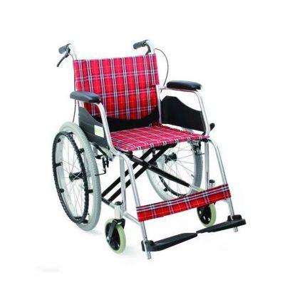 【会员特价 日常价516元】优瑞诚手动轮椅车RCL01折背红