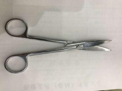 【会员特价 日常价16.5元】双鹿手术剪直尖16cm