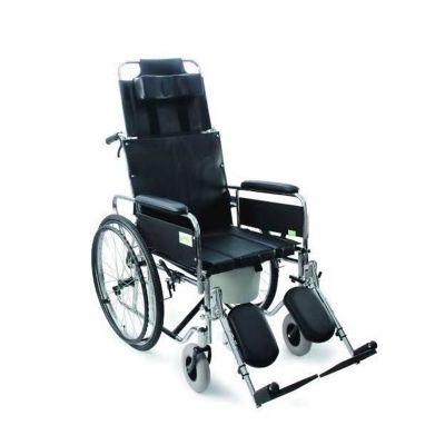 【会员特价 日常价722元】优瑞诚手动轮椅车RCG09带便盆高靠背